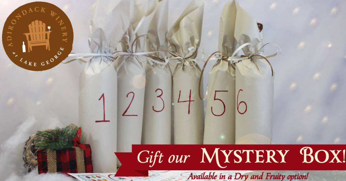 Adirondack Winery mystery box