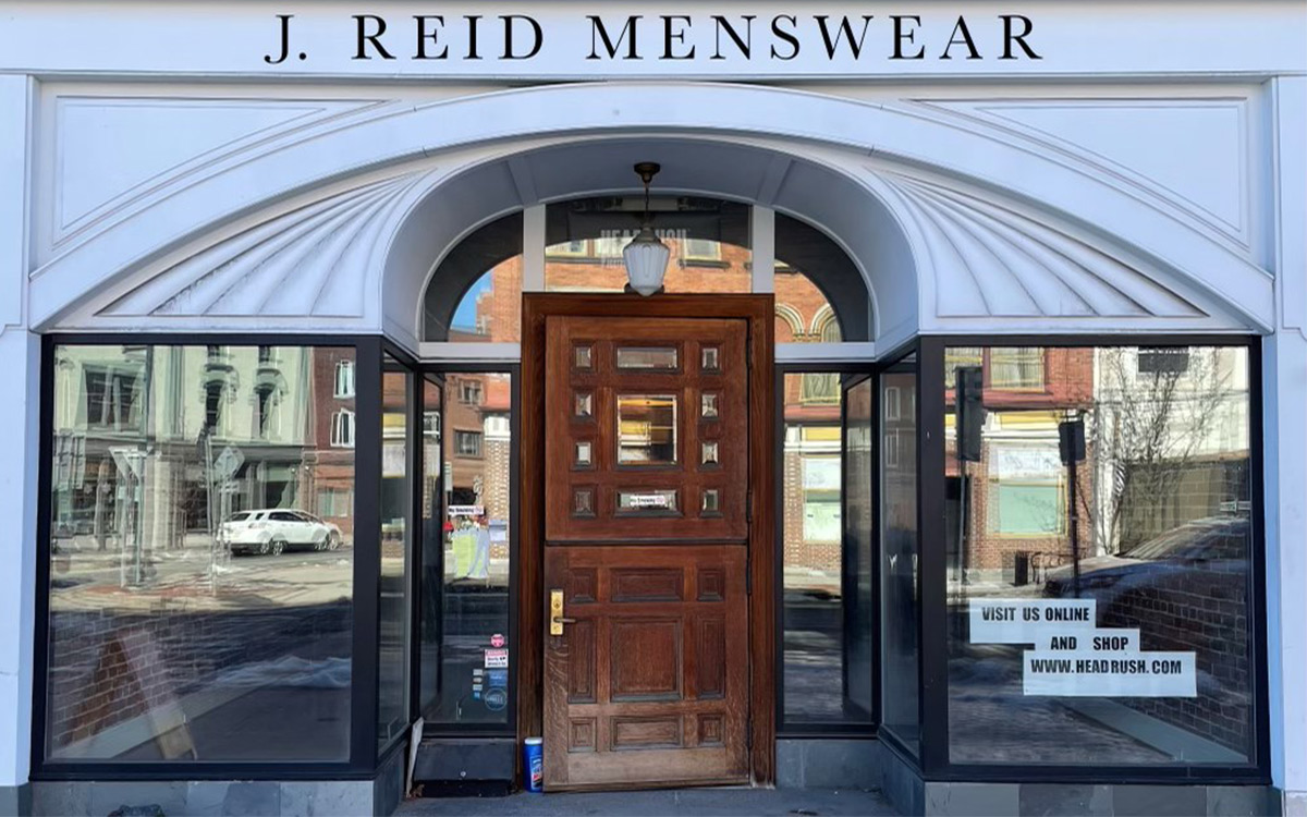 exterior of j. reid