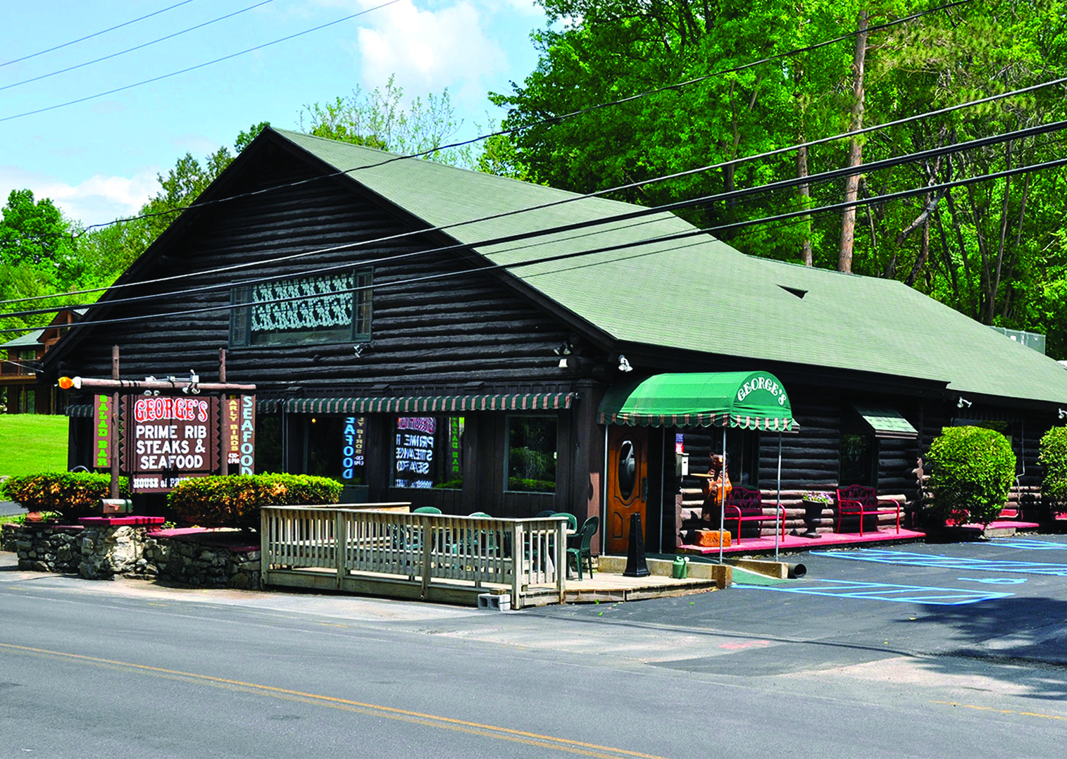 Georges Restaurant In Lake George Opens Again After Damages From
