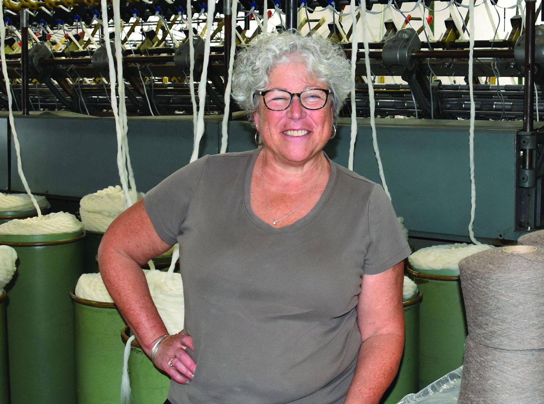 Mary Jeanne Packer in mill.