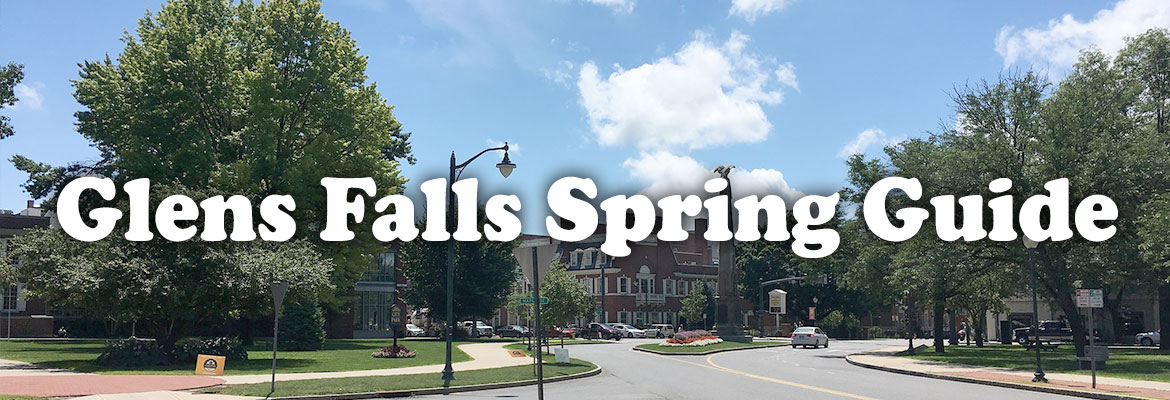 outdoors with glens falls spring guide words