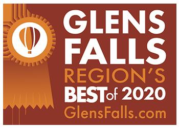 glens falls region's best 2020 logo