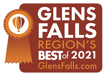 glens falls region's best 2021 logo