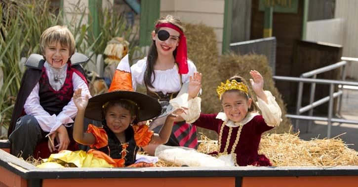 kids at fright fest
