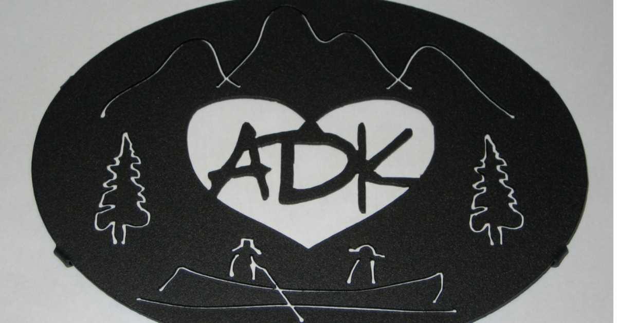adirondack trivet in graphite black