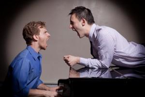 Adam Overett & Joe Kinosian (photo by James Shubinski)