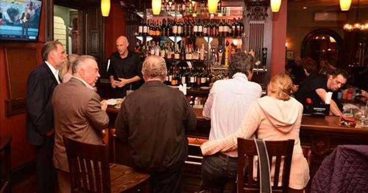 morgan and company bar area