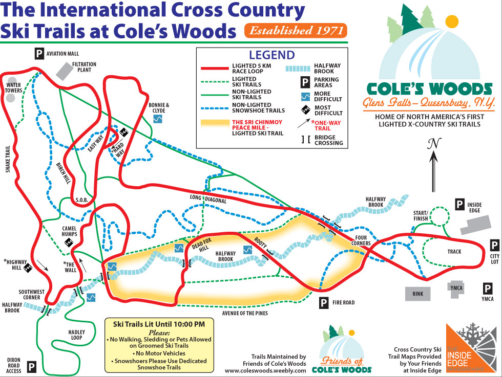 Find CrossCountry Ski Trails In The Adirondacks