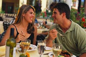 Romatining Dining in Glens Falls