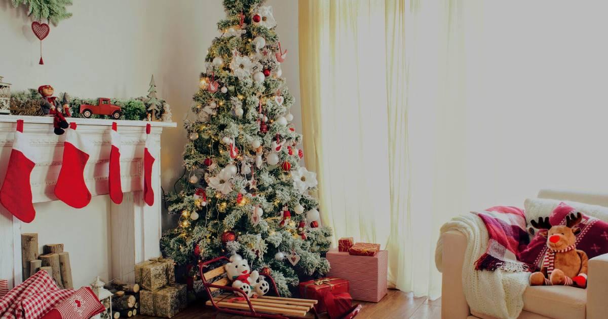 winter theme christmas decor