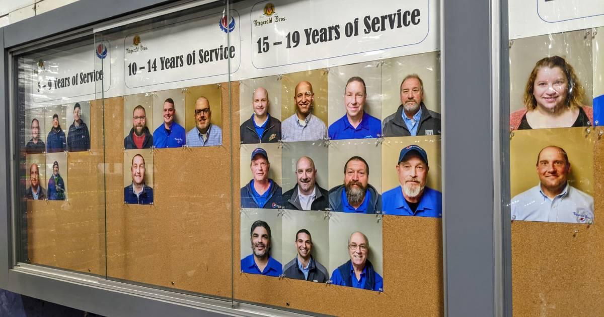 employee wall