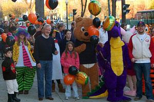 halloween event on street
