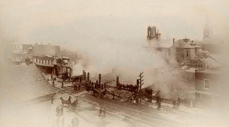 1884 fire in glens falls ny