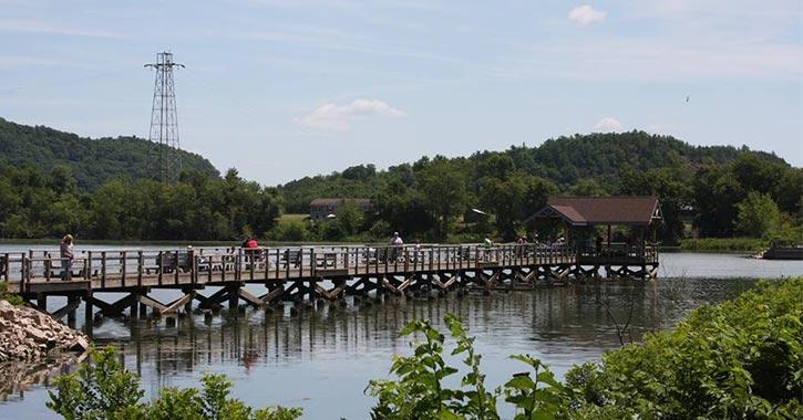 a long dock