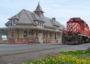 Fort edward train stationfort edward village