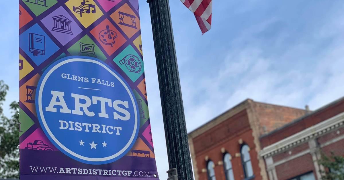 Glens Falls Arts District banner