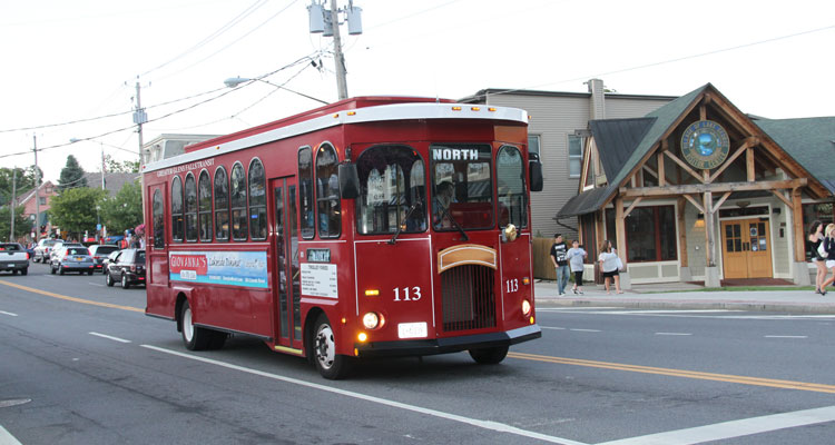 a trolley