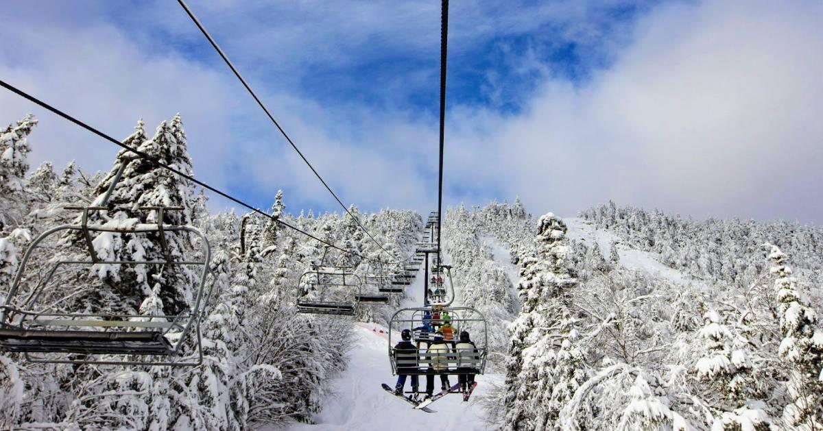 ski lift at Gore