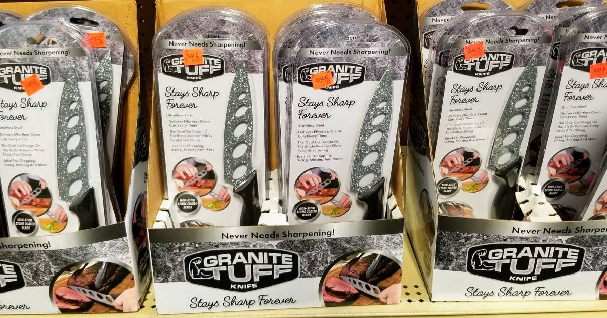 packaged Granite Tuff knives