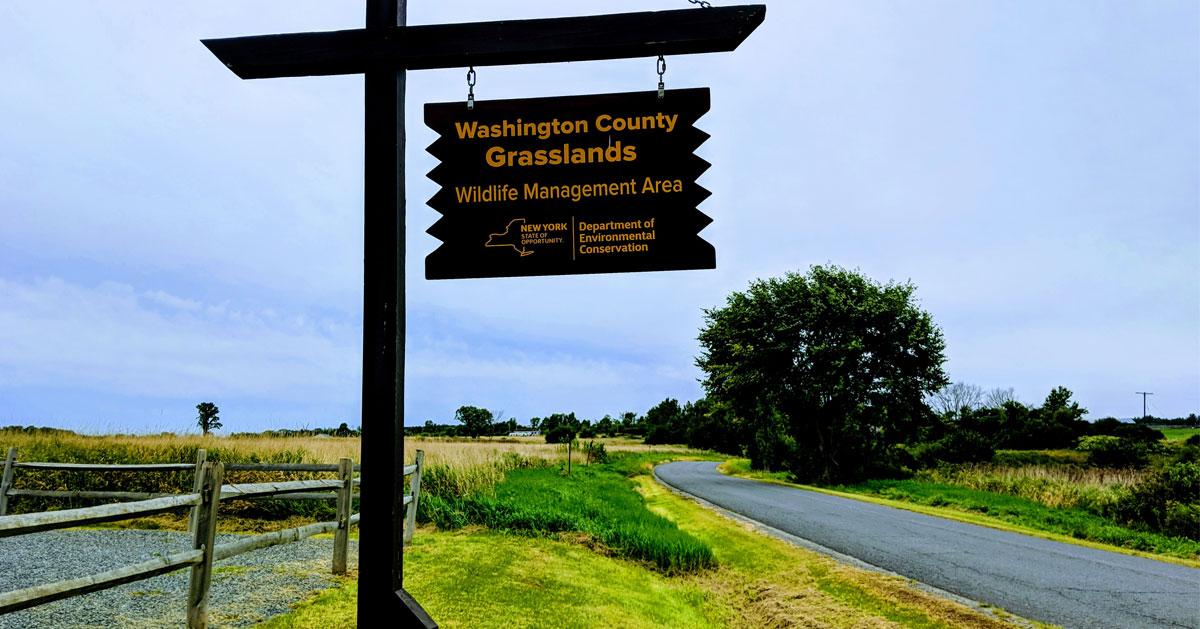 grasslands sign