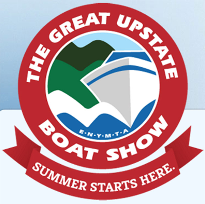 Upstate Boat Show Logo