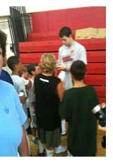 Jimmer Fredette at Sooper Hoopers