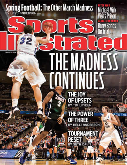 Sports Illustrated Cover - Jimmer Fredette
