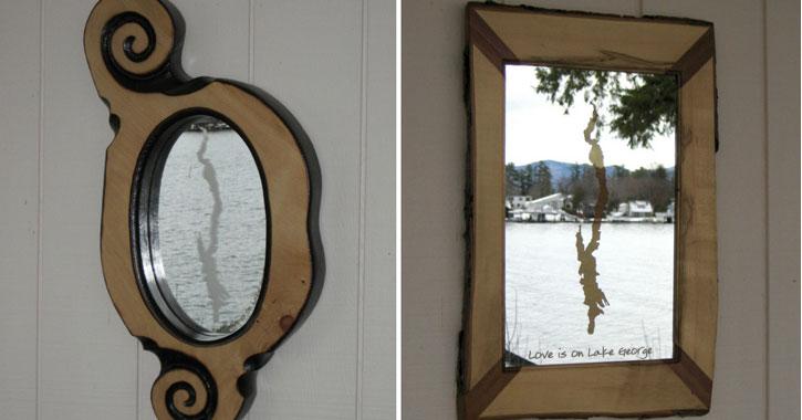 a custom mirror