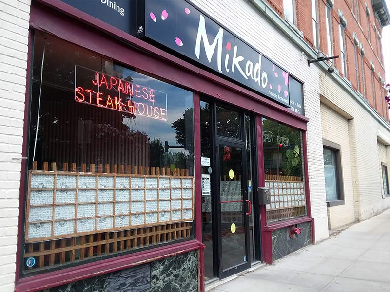 exterior of Mikado