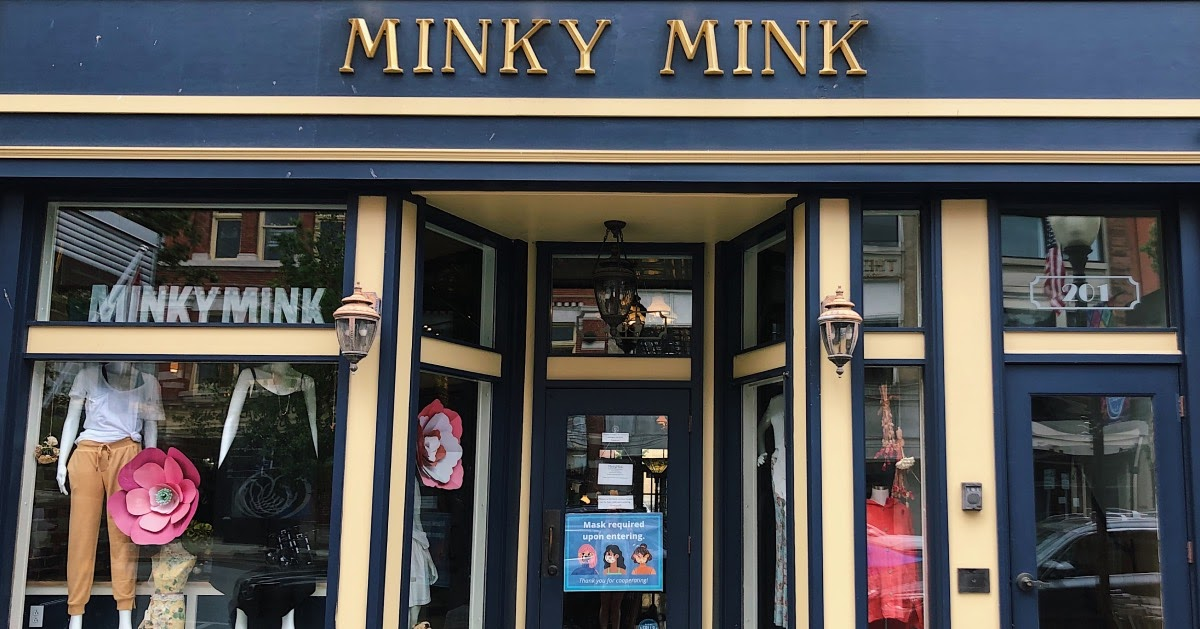 outside of Minky Mink
