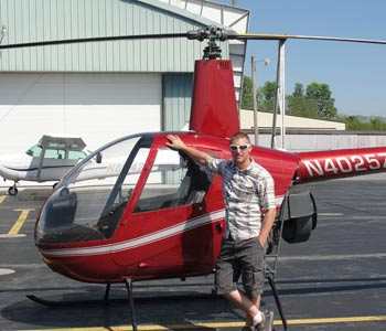 North Country Heliflite 2 Person Helicopter with Pilot Zach Miller