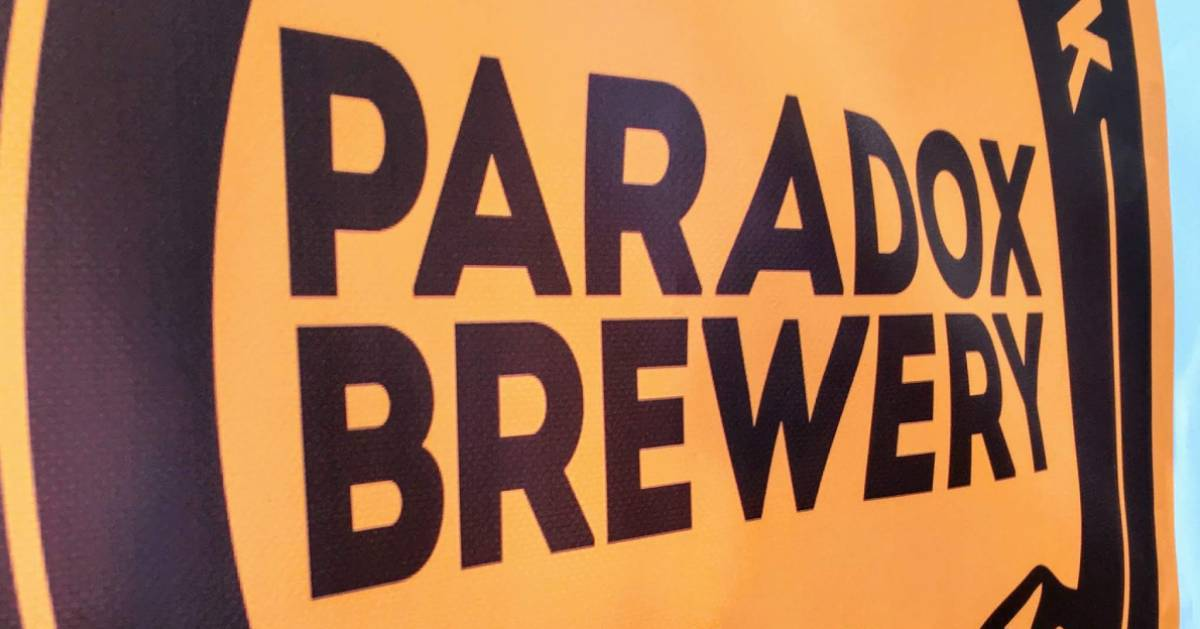 Paradox Brewery sign