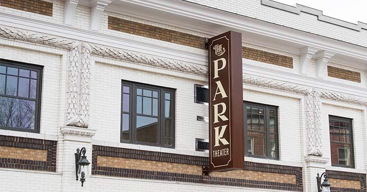 park theater exterior