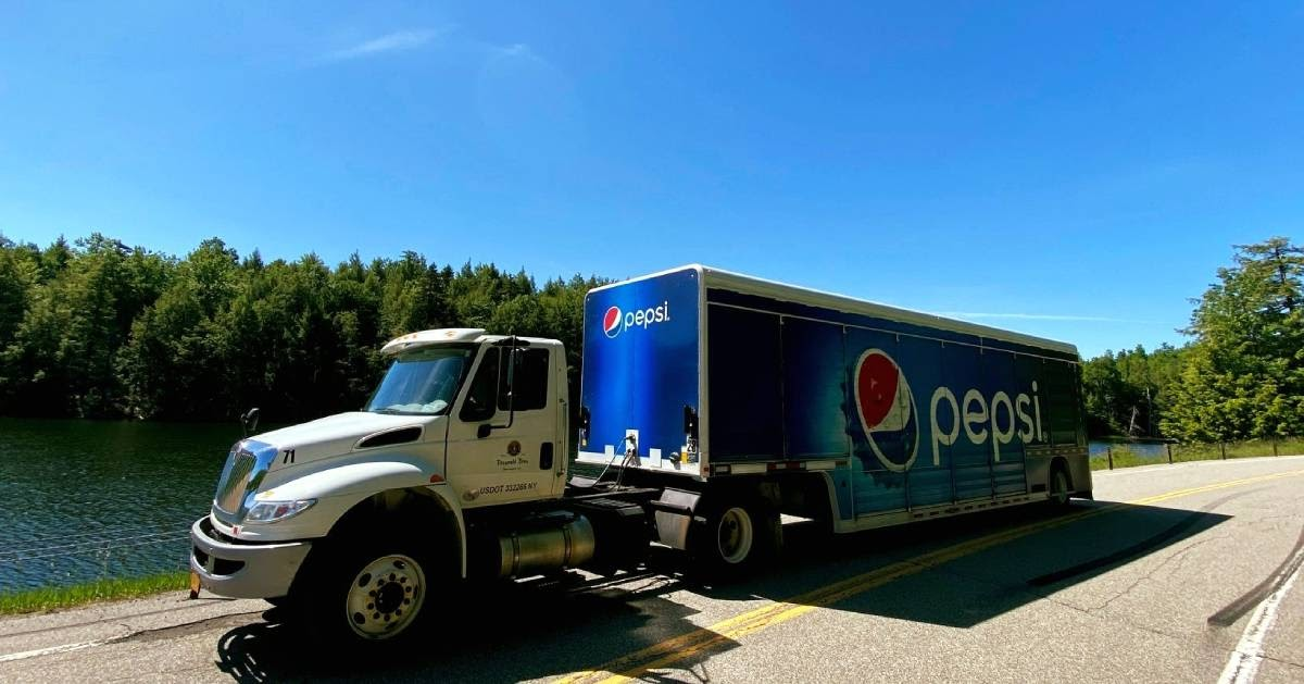 pepsi delivery truck