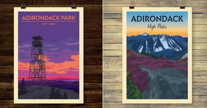 pure adirondacks posters