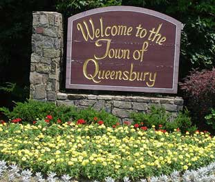 Queensbury sign