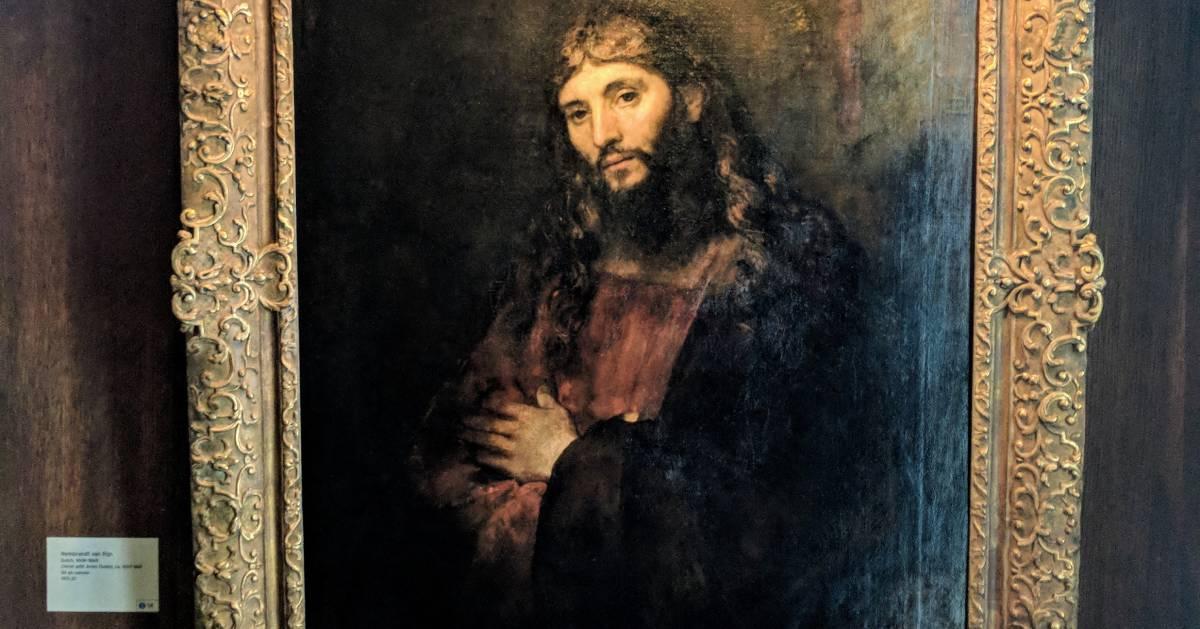 Renoir's Jesus painting