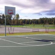 basketball hoop at ridge jenkinsville park