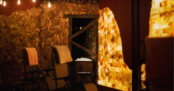 adirondack salt cave room