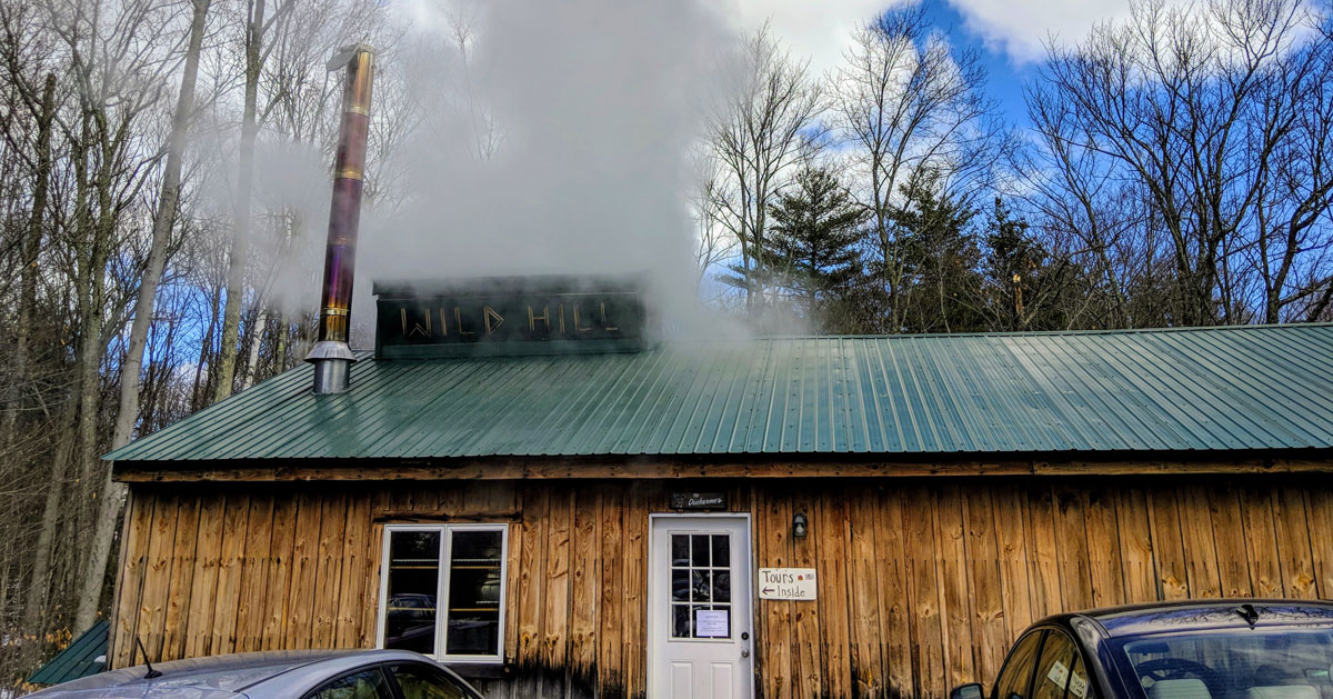 a maple sugar house