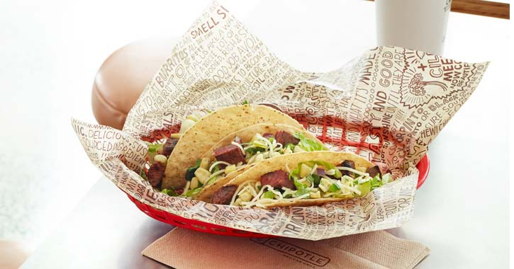 a crispy taco