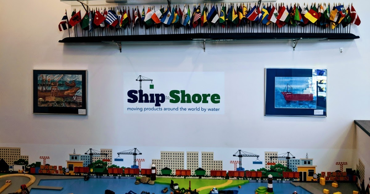 Ship Store exhit in kids museum