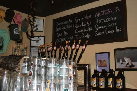 tap handles at coopers cave