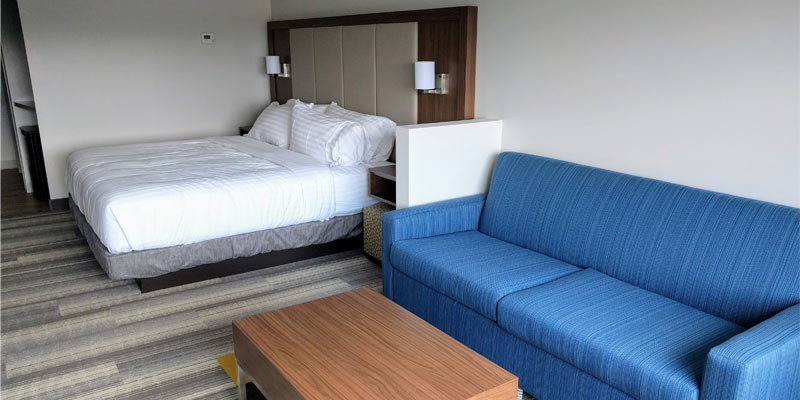 See A Sneak Peek Inside The New Holiday Inn Express