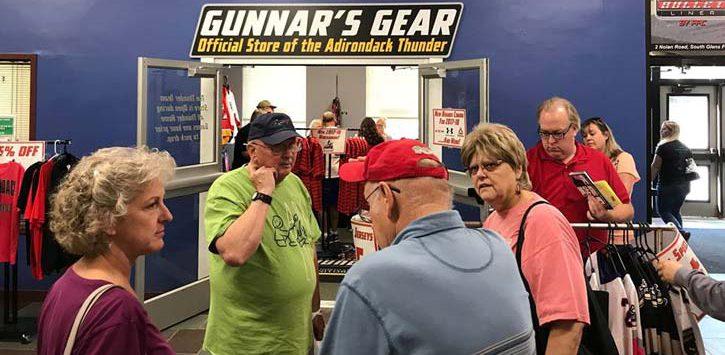 adirondack thunder's gear store