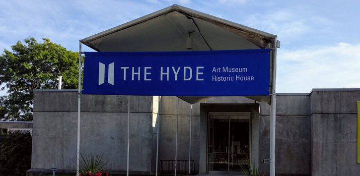 the outside of The Hyde