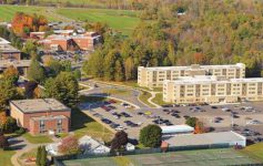 aerial view of SUNY Adirondack