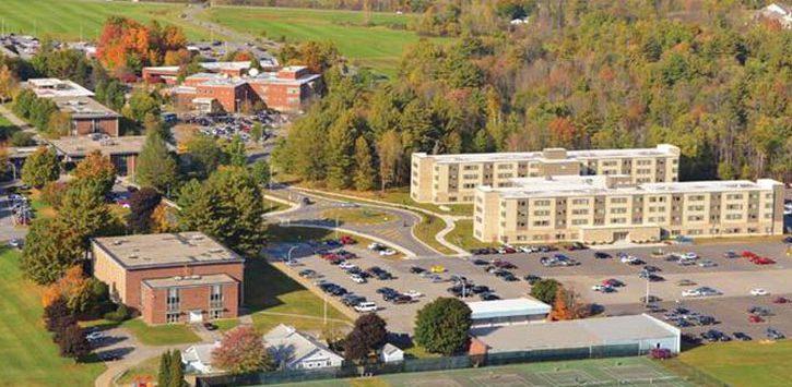 aerial view of SUNY Adirondack
