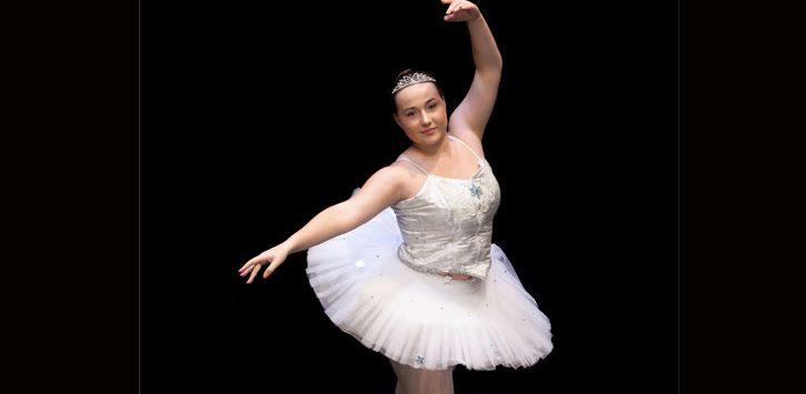a young ballerina