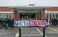 national school walkout at queensbury high school